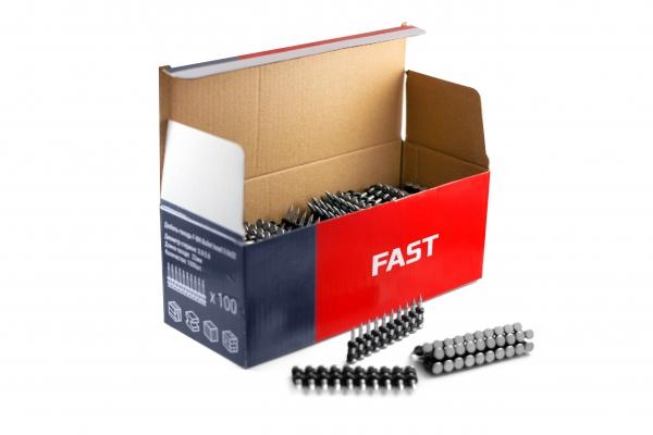 Комплект усиленных дюбель-гвоздей FAST Ballistics + газовый баллон