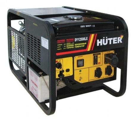 енератор бензиновый Huter DY12500LX