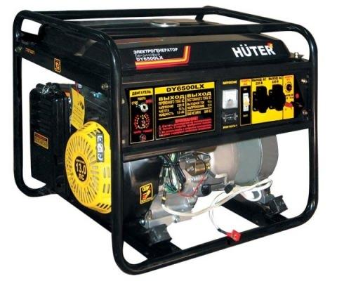 Генератор бензиновый Huter DY6500LX