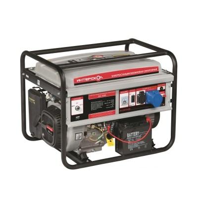 Генератор газовый Интерскол ЭБГ-5500 (мультитопливный)