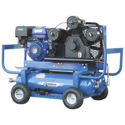 Передвижной компрессор с бензиновым приводом Remeza СБ4/С-90.LB75.SPE390R