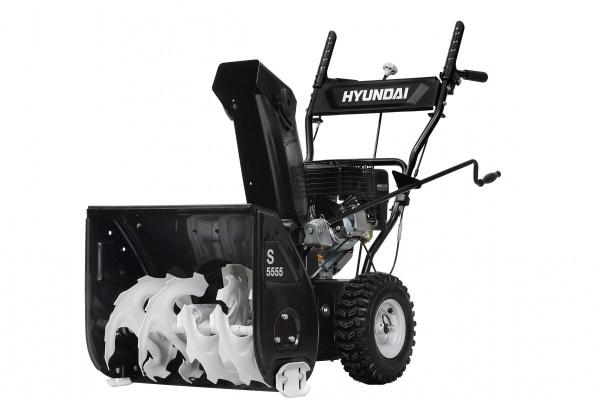 Снегоуборочная машина Hyundai S5555. Фото 1