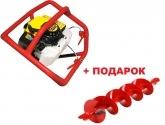 Мотобур Iron Mole E73 (бензобур)
