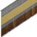 Набор гвоздей для работ по дереву TOUA 2.87x63 с кольцевой накаткой без покрытия. Фото 3