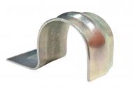Скоба металлическая с ребром жесткости для монтажного инструмента