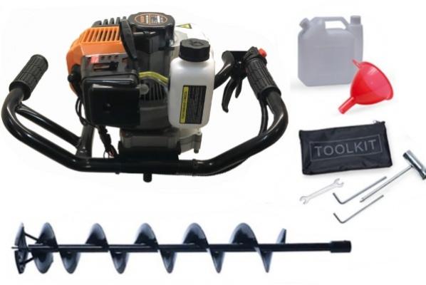 Ледобур MASTER GD-2000 со шнеком FAST Ice Drill 180x1000 мм