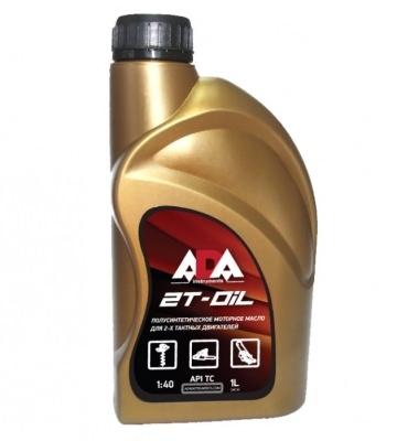 Масло моторное полусинтетическое для 2-х тактных двигателей ADA 2T-OIL