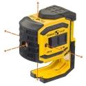 Лазерный построитель точек STABILA LA-5P Complete Set