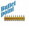 Набор усиленных дюбель-гвоздей для работ по бетону TOUA Bullet-Point